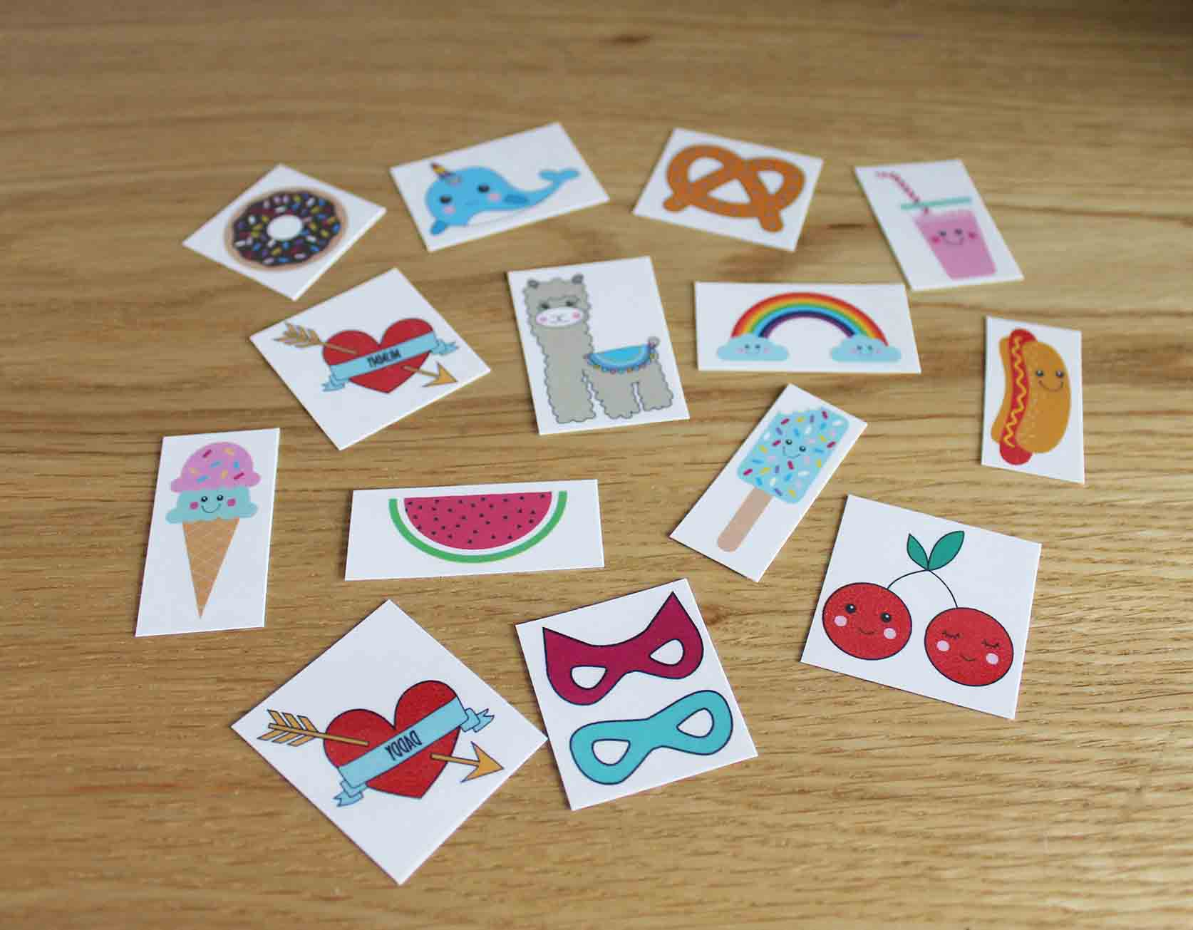 Girly Temporary Tattoo Pack *PRE ORDER