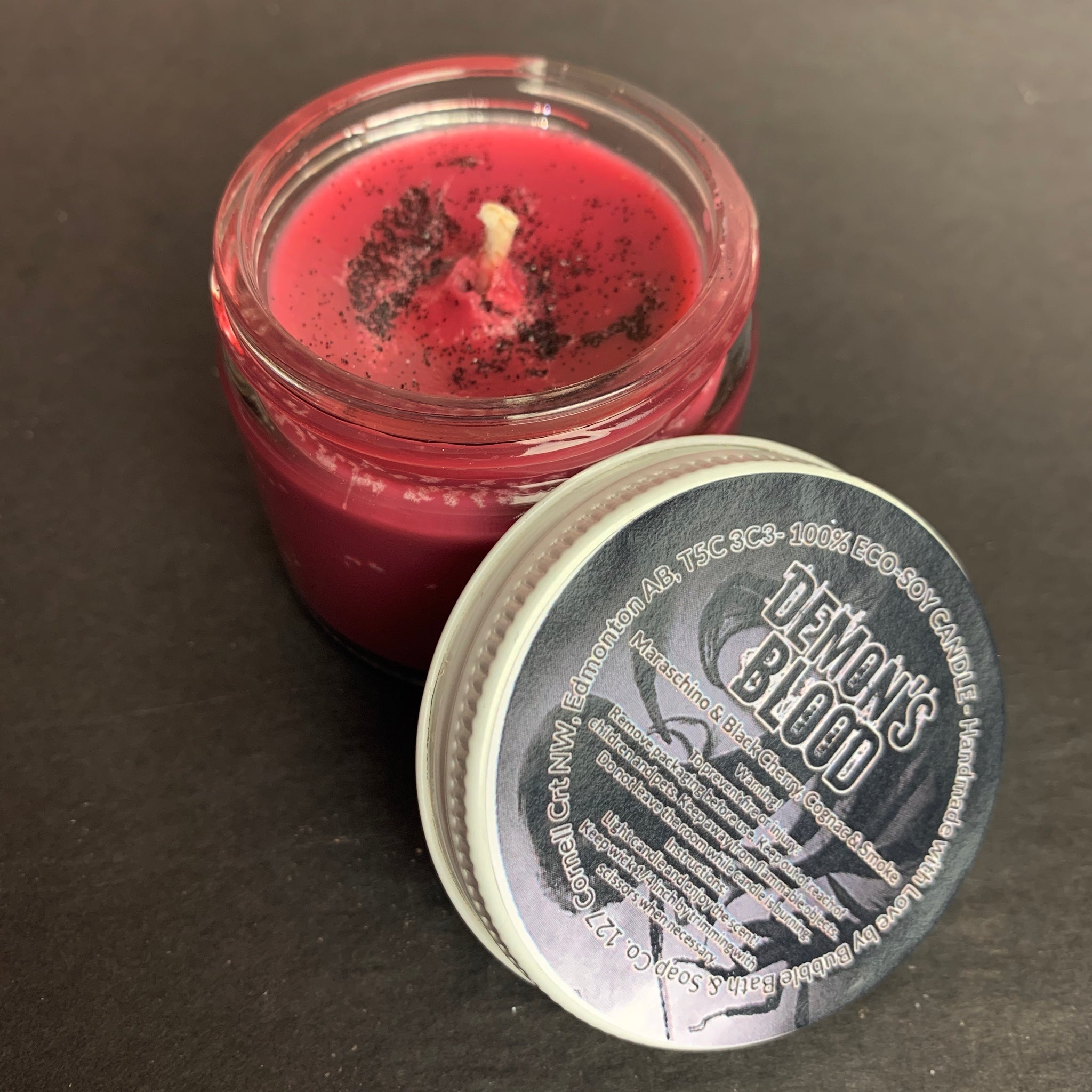 Demon's Blood Mini Candle