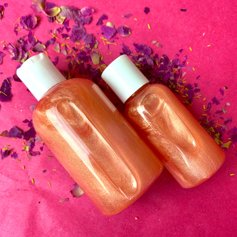 Pretty in Peony Luxury Bath Oil