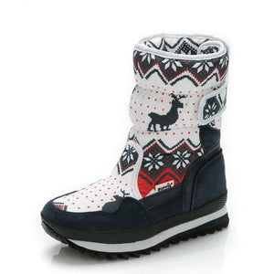 Holiday Inspired Snow Boots
