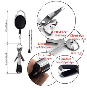 TIPITASTIC 4-in-1 Quick Knot Fishing Line Tool