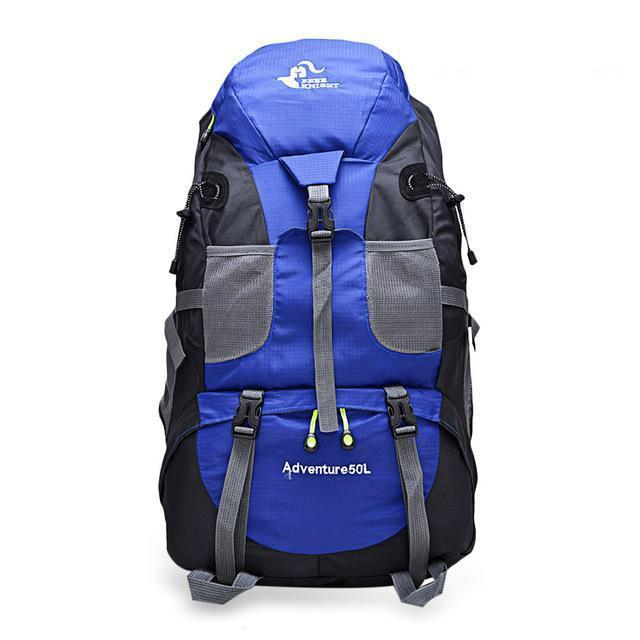 TIPITASTIC Blue 50L All-round Trekking Backpack [50L & 60L]