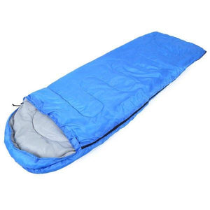 TIPITASTIC Blue Hooded Low Thermal Sleeping Bag