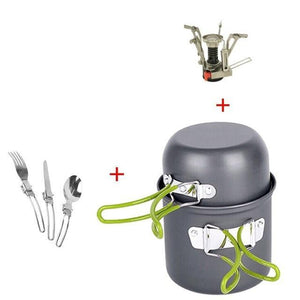 TIPITASTIC Camping Cooking Set