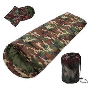 TIPITASTIC Camouflage Cotton Sleeping Bag