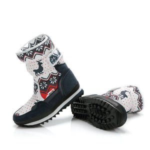 TIPITASTIC Holiday Inspired Snow Boots