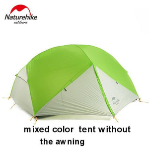 TIPITASTIC gray Double Layers Waterproof Tent