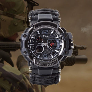 TIPITASTIC Outdoor Survival Watch