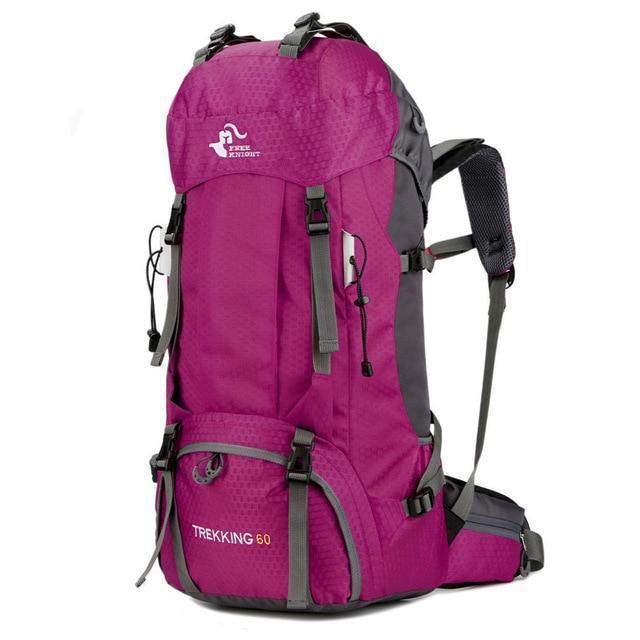 TIPITASTIC Pink 60L All-round Trekking Backpack [50L & 60L]
