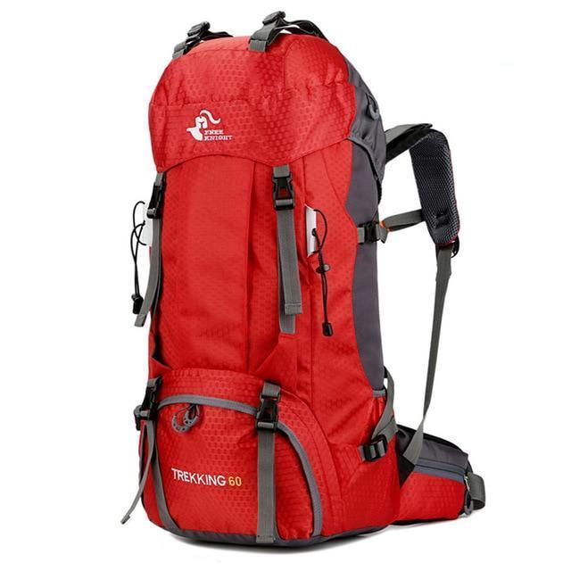 TIPITASTIC Red 60L All-round Trekking Backpack [50L & 60L]