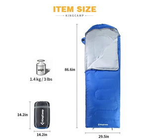 TIPITASTIC Gray / China Ultralight Sleeping Bag