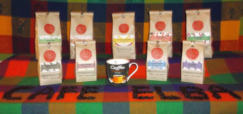 Central American Coffees by Cafe Elba