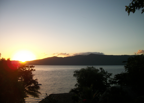 A beautiful Central American sunset. Elba took this picture in Nicaragua.