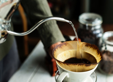 Pour-Over Brewing Method