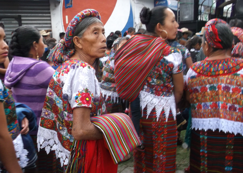 Mayan 'traje' (traditional dress) in Guatemala, from Elba's Guatemala Trip