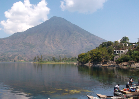 Mayans call this, Ixcanul...a volcano in Guatemala