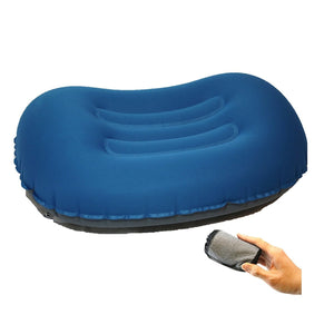 Ultralight Compact Inflatable Camping Pillow, Soft Compressible Portable Travel Air Pillow