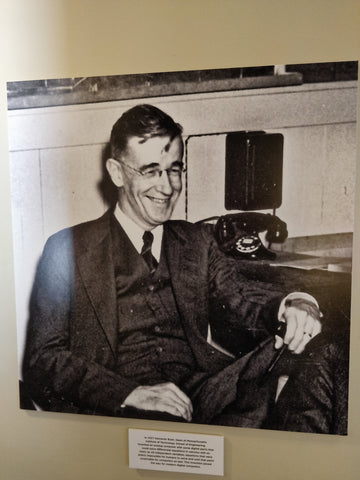 Vannevar Bush in Community Phone's History of Telecommunications