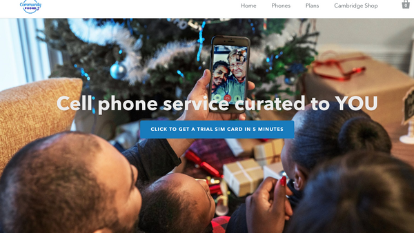 Community Phone launches a new website