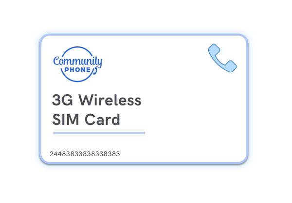 3G Wireless Plan Starter Kit by Community Phone