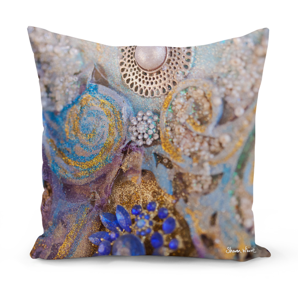 Sharon White Art Ascension Jewels Medium Cushion