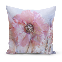 Sharon White Art Pink Cushions mediumpink pillow cushion sharon white art