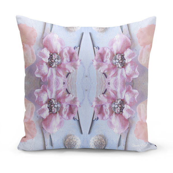 Sharon White Art Medium and small cushions