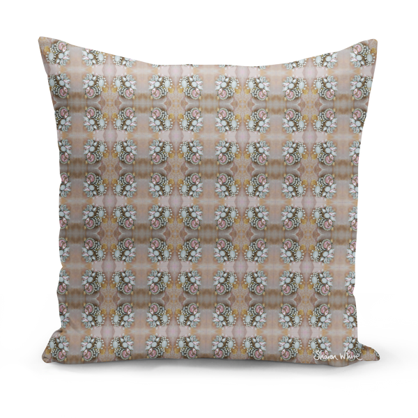 Sharon White Art Floor Cushion