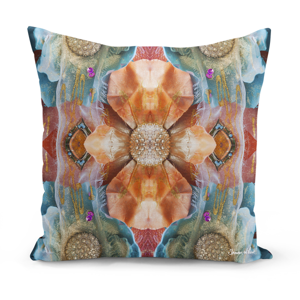 Sharon White Art Renewal Cushion Medium
