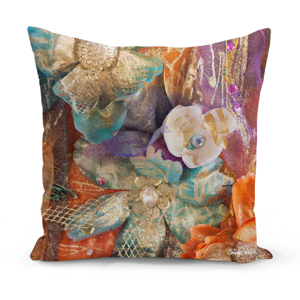 Sharon White Art Moroccan medium cushion