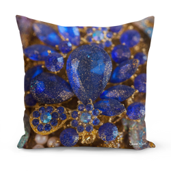 Ascension  Ocean Jewel Blue Cushions