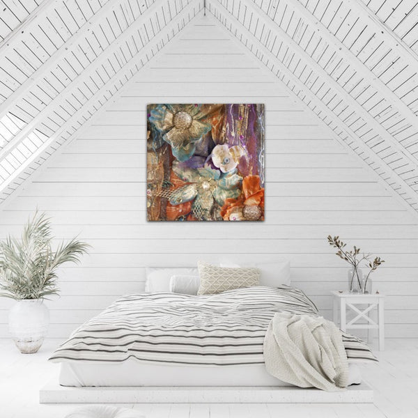 Renewal Sharon White Art Large Canvas Wall Art