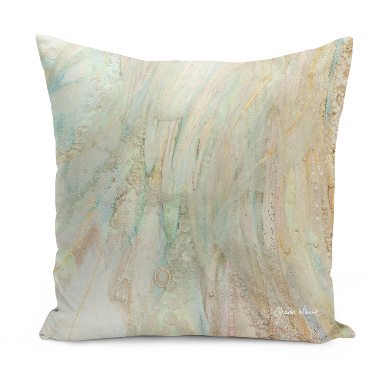 Art on a Sofa cushion Sharon White Art large and medium cushions and pillows