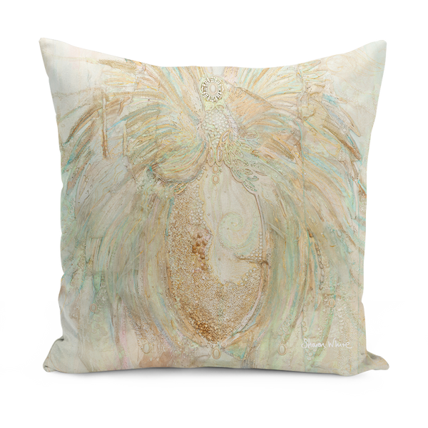 Extra Large floor cushion Sharon White Art pillows and more