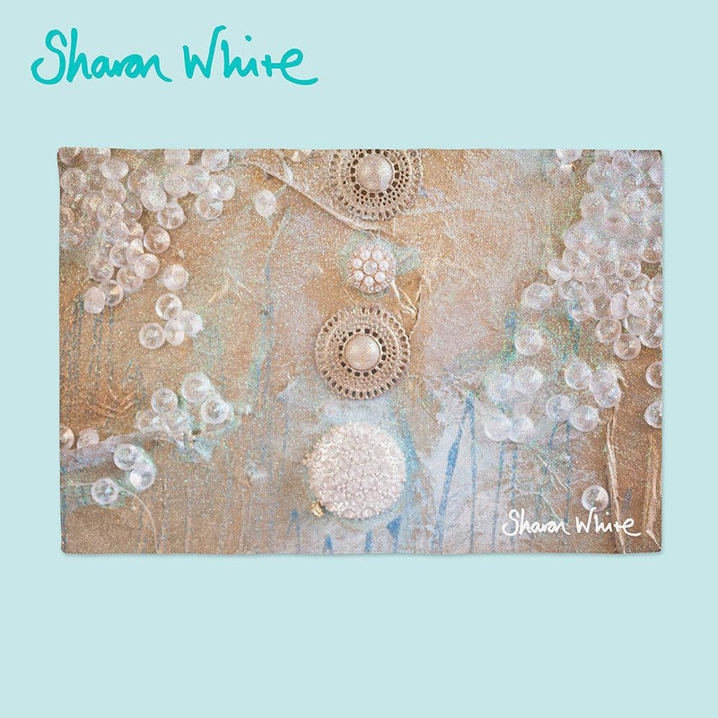Sharon White Art Ascension Place Mats Quiet
