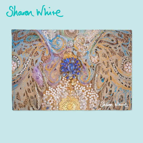 Sharon White Art Ascension Place Mats Timeless