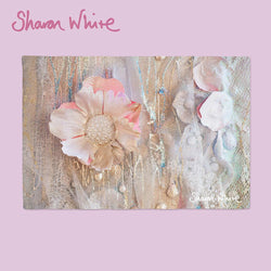 Sharon White Art Lightness of Being Place Mats Protected