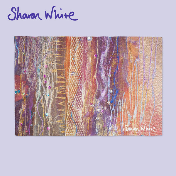 Sharon White Art Place Mat Renewal Fuzzy Sequence