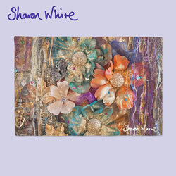 Sharon White Art Place Mat Renewal Clusters