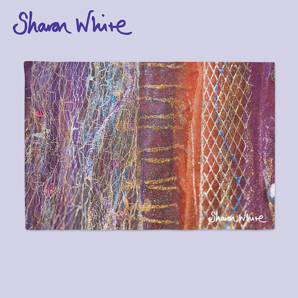 Sharon White Art Place Mat Renewal Dynamic Stripe
