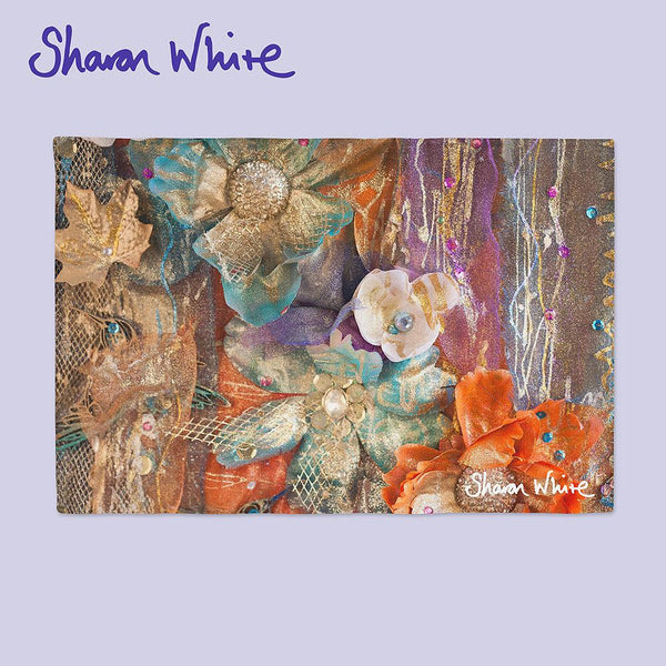 Sharon White Art Place Mat Renewal Bloom