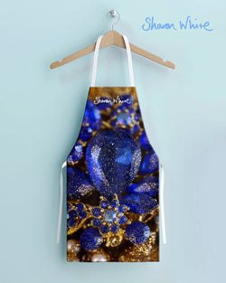 Sharon White Aprons Ascension Range - Ocean Jewel