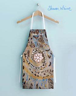 Sharon White Aprons Ascension Range - Swirl