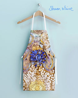 Sharon White Aprons Ascension Range - Timeless