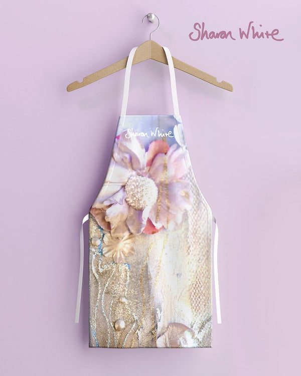 Sharon White Aprons Lightness of Being Range - Delicate Love