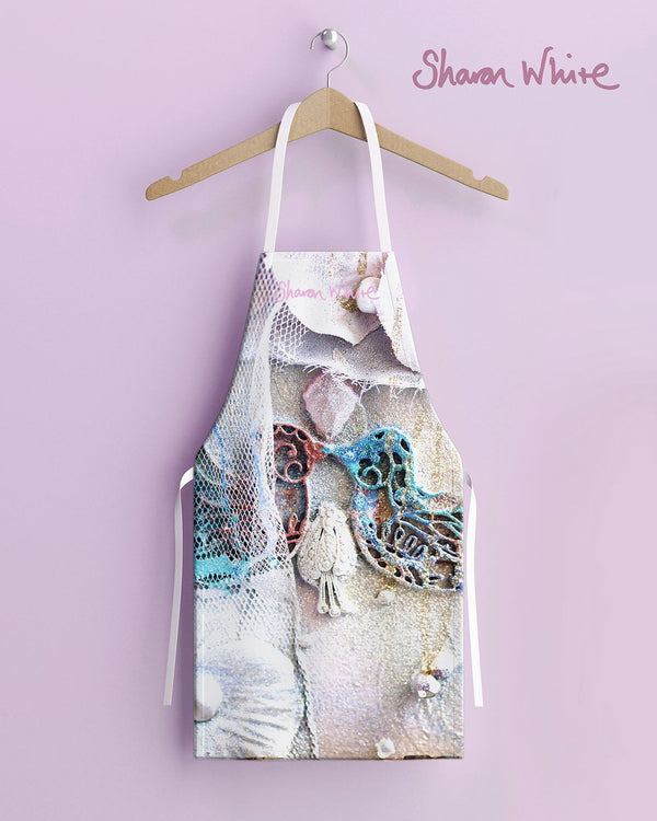Sharon White Aprons Lightness of Being Range - The Kiss