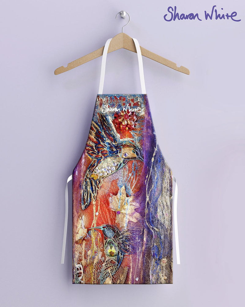 Sharon White Aprons Renewal Range - Flowers