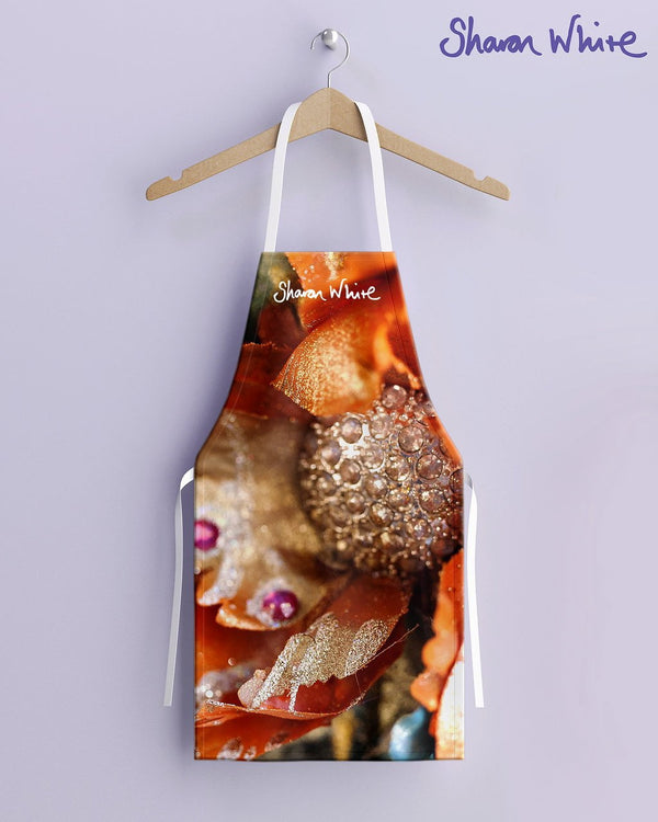 Sharon White Aprons Renewal Range - Orange