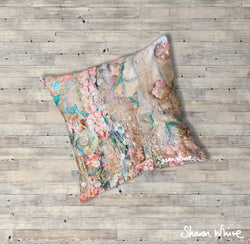 Sharon White Art Lightness of Being Floor Cushions Full Lightness