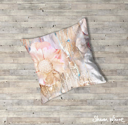 Sharon White Art Lightness of Being Floor Cushions Protected